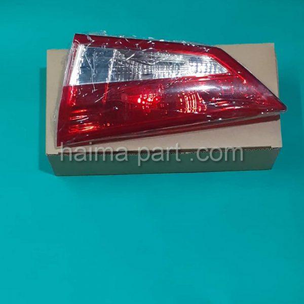 چراغ خطر روی صندوق هایما S5